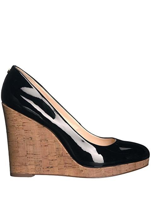 Nine West Dolgu Topuk Ayakkabı Siyah